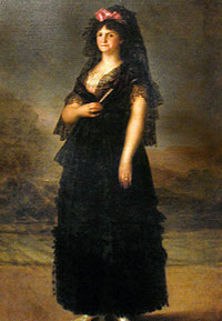 Maria Luisa (Goya, 1800 AD)