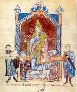 Matilda of Canossa (ca. 1100 AD)