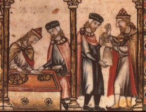 Jewish money-lenders in medieval France