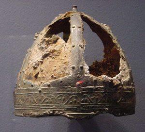 Ostrogothic helmet