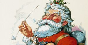 Thomas Nast's Santa Claus, from about 1881
