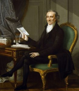 Thomas Paine about 1791 (by Laurent Dabos)