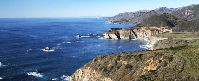 Pacific coast of North America - the beach