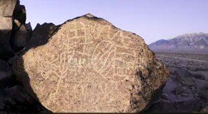 Paiute petroglyphs (Bishop, CA)