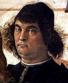 Perugino's selfie