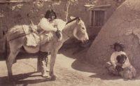 A Pueblo family in 1885 (Detroit Publishing Company)