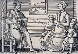 A Puritan family about 1563