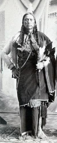 Quanah Parker, about 1890