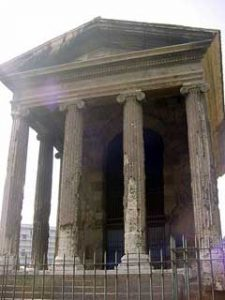 A victory temple from Republican Rome