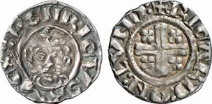 A silver penny of Richard the Lionhearted (1100s AD)