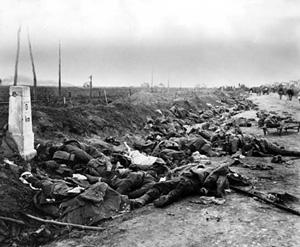 Dead Romanian soldiers (1916)