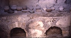 A Roman oven from the House of the Stags, Herculaneum - thanks to VROMA