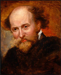 Rubens (self-portrait), 1620 AD