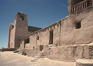 San Estevan Del Rey, where Spanish friars lived (1600s AD)