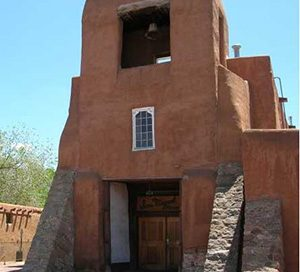 San Miguel mission church (Santa Fe, 1600s)