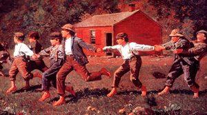 American boys at school (1800s)