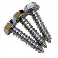 Three metal screws