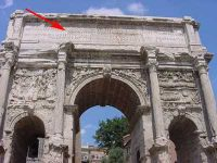 Inscription the Arch of Septimius Severus