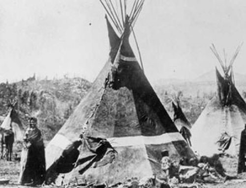The Shoshone fight the United States