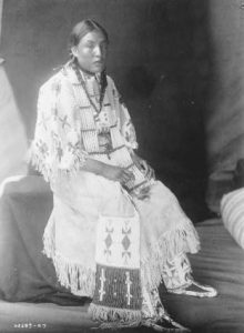 Red Elk Woman, a member of the Sioux