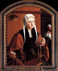 Maerten van Heemskerck, Portrait of Anna Codde, 1529