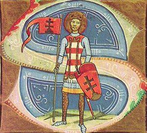 Stephen, King of Hungary ca. 1000 AD