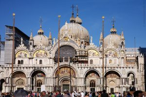 St. Mark's Cathedral in Venice, Italy (about 1100 AD)