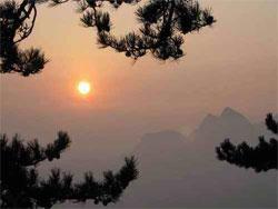Sunrise in China