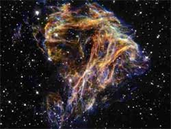 Supernova from space (thanks to NASA and the Hubble Telescope)