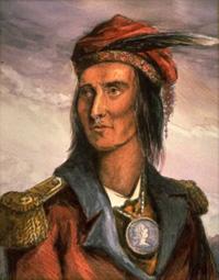 Shawnee ruler Tecumseh