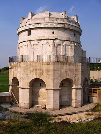 Theodoric's tomb in Ravenna, Italy