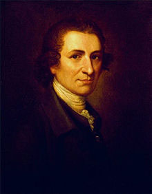 Thomas Paine (by Matthew Pratt, about 1790)
