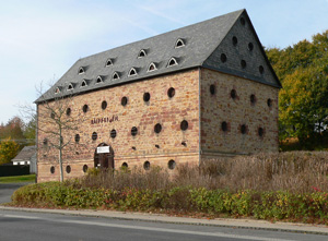 Medieval tithe barn (Germany)