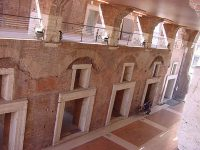 The second floor of Trajan's Markets