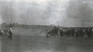 Ute horse race (thanks to Southern Ute Museum and Cultural Center)