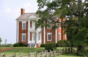 The house of Joseph Vann, a Cherokee man (1804)
