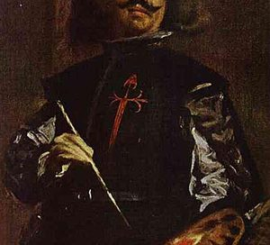 Velazquez (self-portrait), ca. 1650 AD