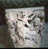 Moses and the Golden Calf (Vezelay, ca. 1140 AD)