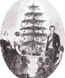 Queen Victoria's Christmas Tree (1840s)