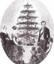 Queen Victoria's Christmas Tree (1840s)
