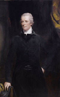 William Pitt - a white man with short gray hair and a dark suit