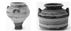 Mycenaean pottery was traded to Bronze Age Sicily