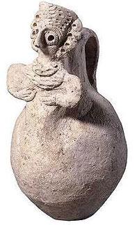 Amorite jug, about 2200 BC