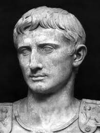 The Roman emperor Augustus