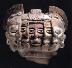 Aztec brazier (about 1300 AD)