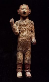 The Aztec god of seeds, Xipe Totec (ca 1500 AD)
