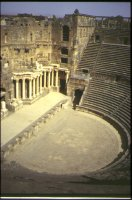 Greek theater at Bosra in Syria