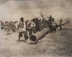 Taking Iran's oil for the British navy in World War I