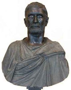 Bust of a man (Rome, ca. 300 BC)