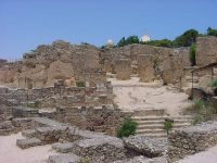 The ruins of Punic Carthage